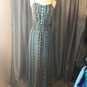 Super cute as Tech, BoHo long maxi style dress